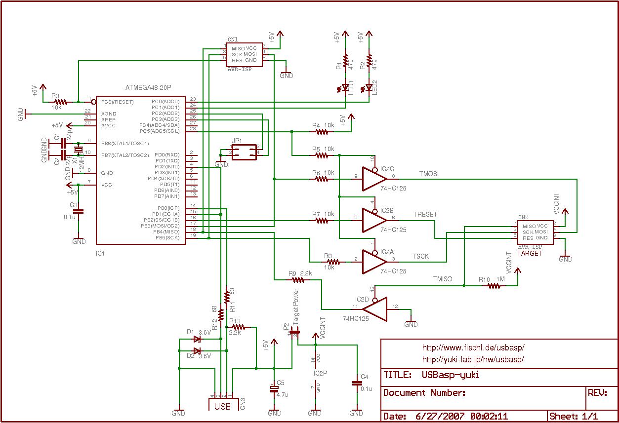 Adafruit Customer Service Forums View Topic Usbtinyisp V3 Ideas Voltage Level Shifter Circuit Http Yuki Labjp Hw Usbasp
